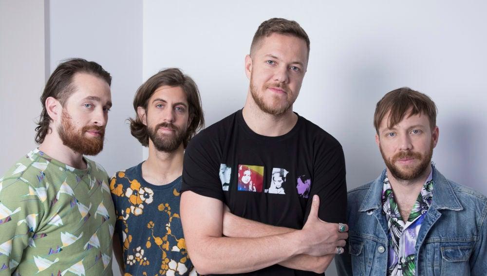 La banda Imagine Dragons