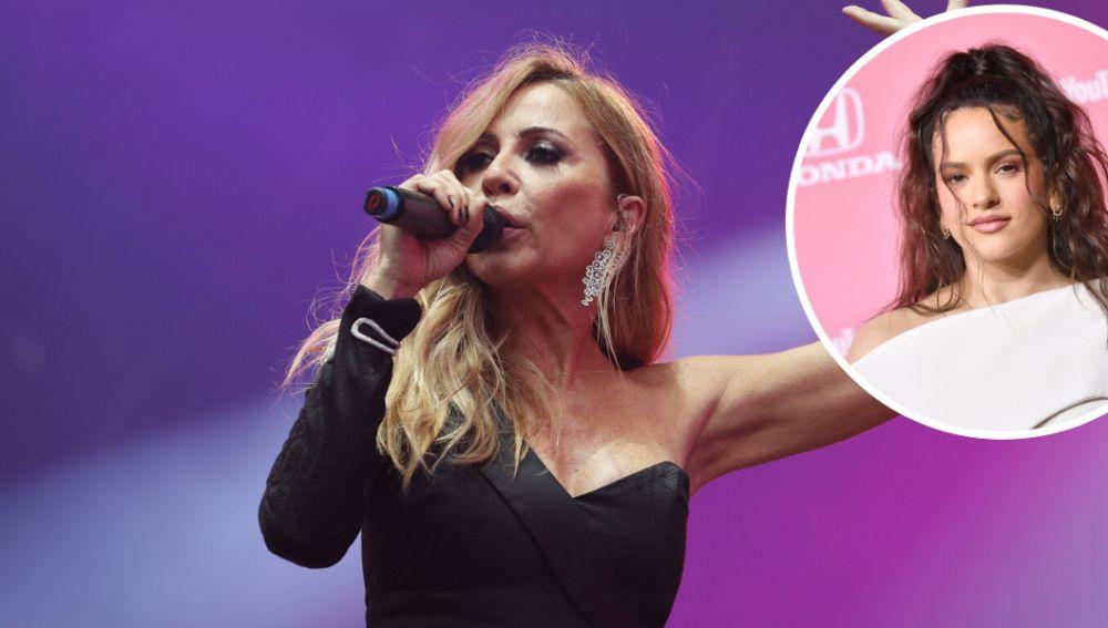 Marta Sánchez se compara con Rosalía y desata la polémica