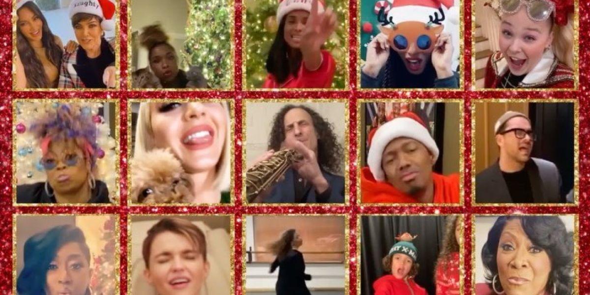 Más de 50 celebridades celebran el éxito de 'All I Want For Christmas Is You' de Mariah Carey