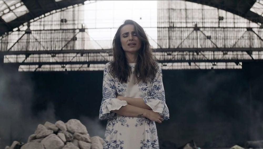 Zahara en el videoclip de 'Con las ganas'
