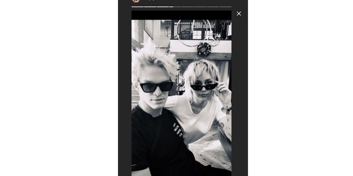 Cody Simpson y Miley Cyrus 'mimetizados'
