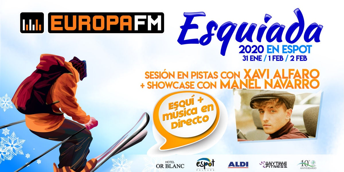Esquiada Europa FM 2020: Snow Party en Espot