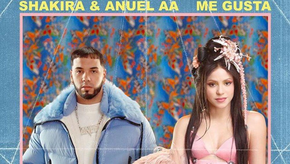 Shakira y Anuel AA presentan 'Me Gusta'