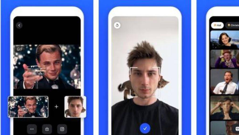 La app 'Doublicat' permite poner tu cara en los gifs de WhatsApp