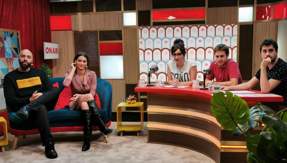 El Chojin y Begoña Vargas en 'yu'