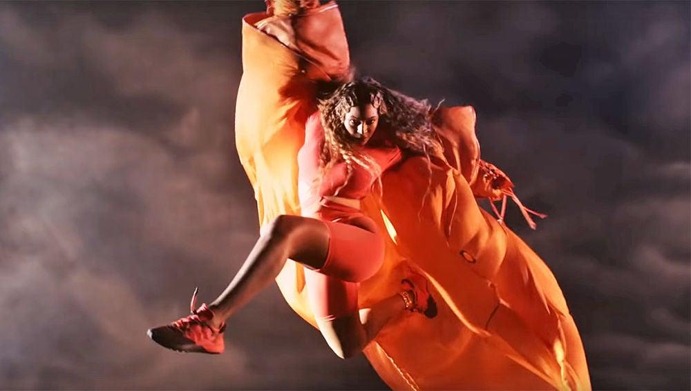 Beyoncé en el spot de adidas x IVY PARK