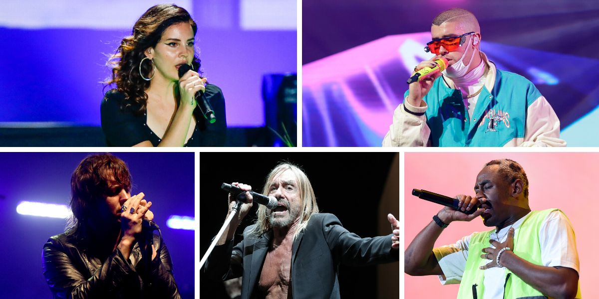 Lana del Rey, Bad Bunny, The Strokes, Iggy Pop y Tyler, The Creator al Primavera Sound 2020