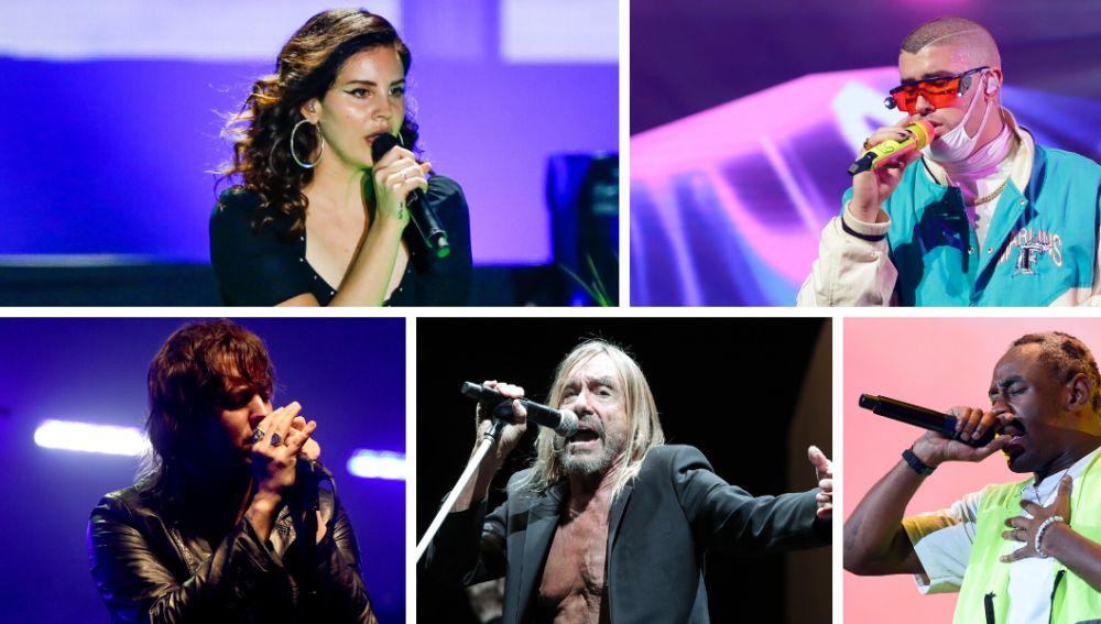 Lana del Rey, Bad Bunny, The Strokes, Iggy Pop y Tyler, The Creator al Primavera Sound 2020