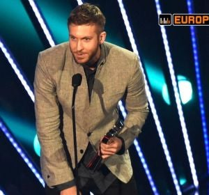 Calvin Harris en los iHeartRadio Music Awards