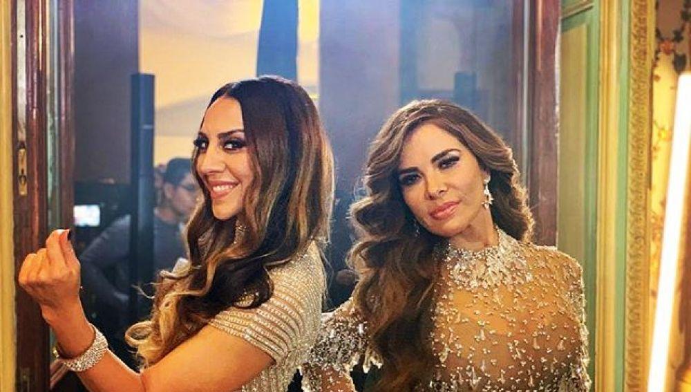 Mónica Naranjo y Gloria Trevi en el videoclip de 'Grande'