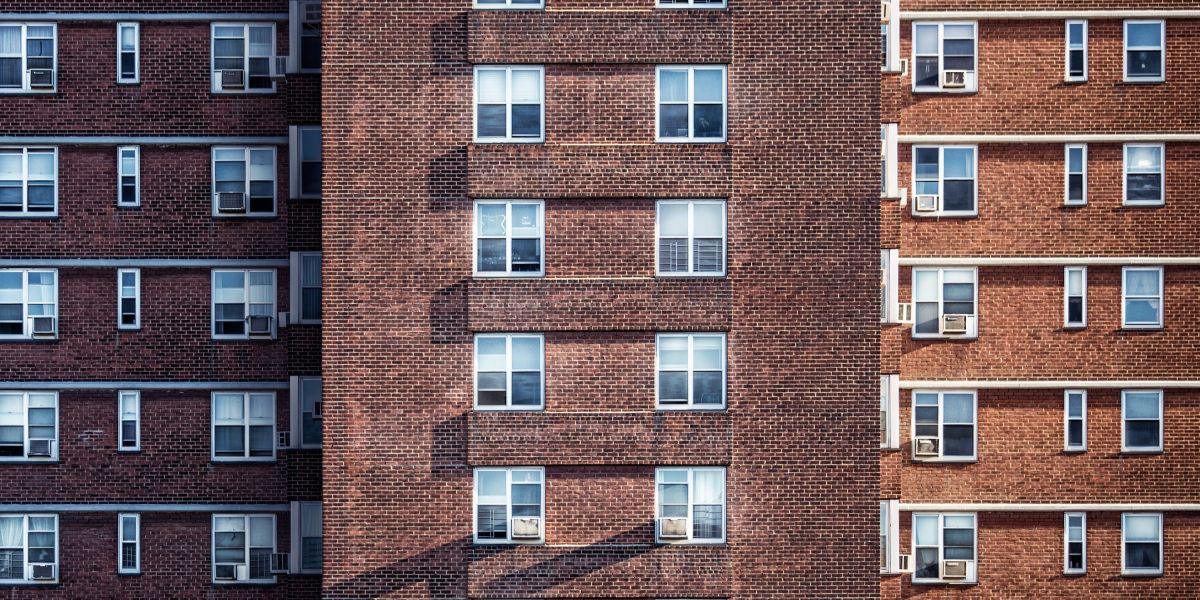 Un bloque de edificios