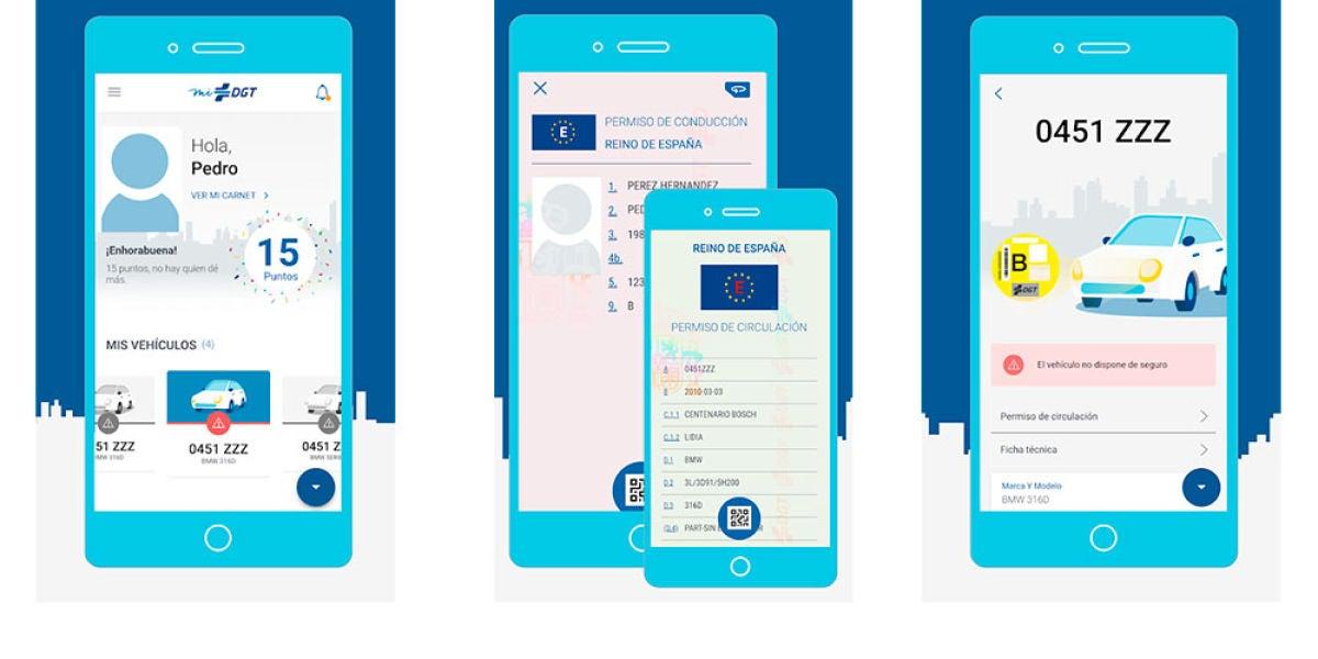La nueva app de miDGT