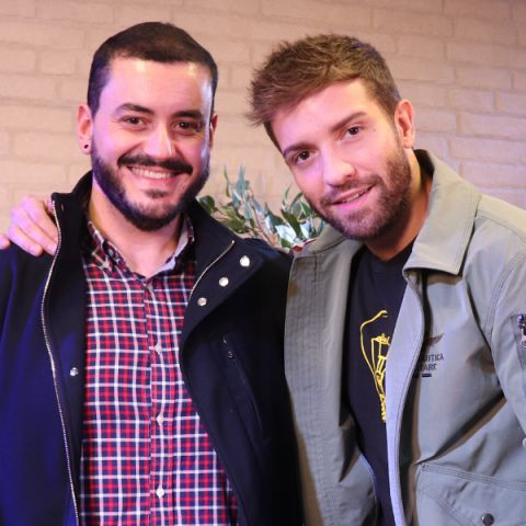 Juanma Romero y Pablo Alborán