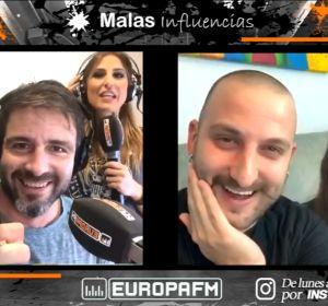 Coco Pretel y Laura Lobo con Ismael Lemais y la 'KISKILLOSA', en Malas Influencias