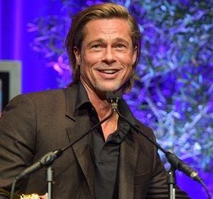 Brad Pitt durante la temporada de premios