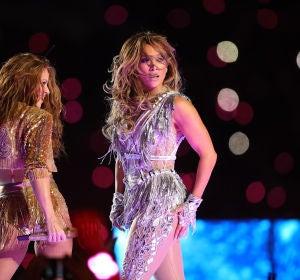 Shakira y Jennifer Lopez en la Super Bowl