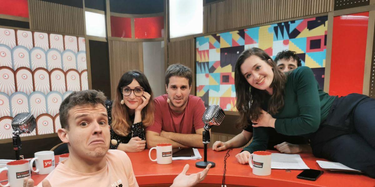 Arkano y Victoria Martín en 'yu'