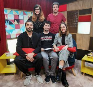 Silvia Alonso y Alex García en 'yu'