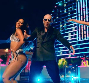 Pitbull en el videoclip de 'Get Ready'