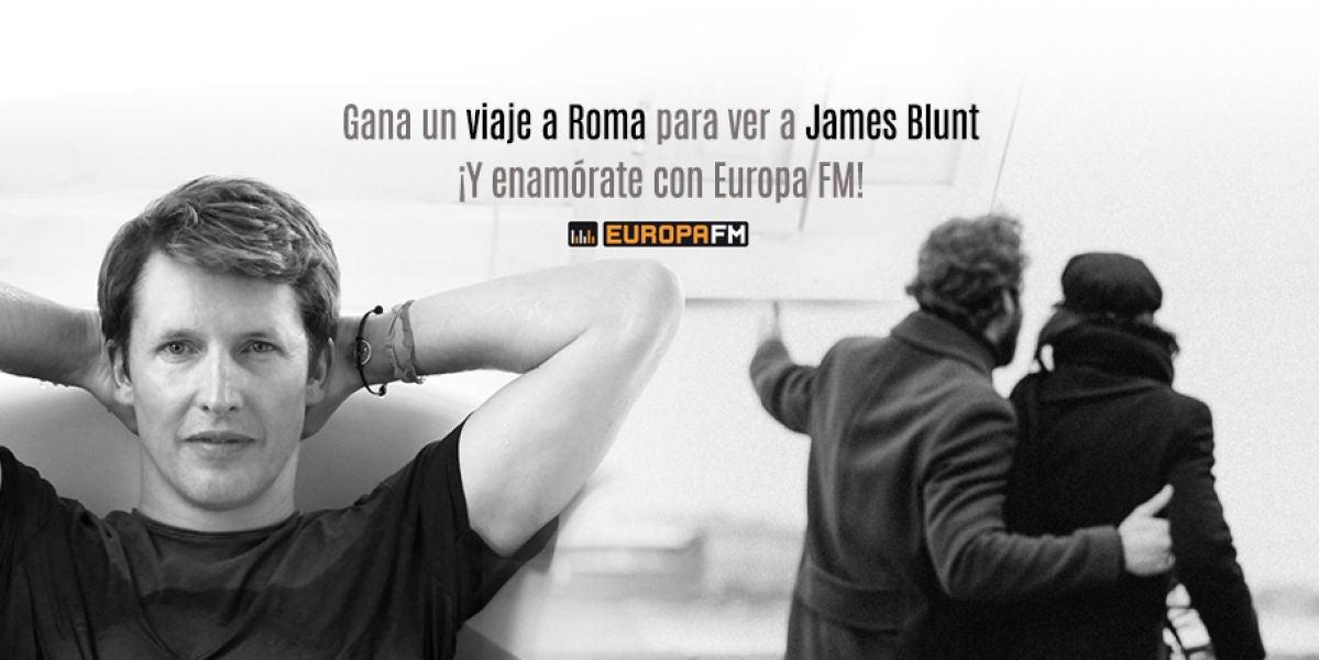 Europa FM te lleva al concierto de James Blunt