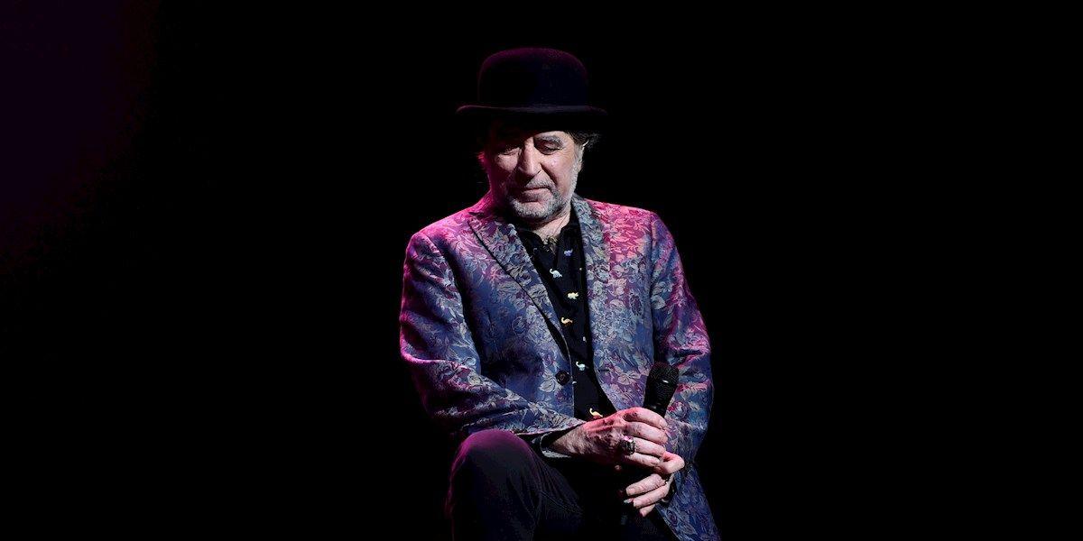 Joaquín Sabina durante un concierto