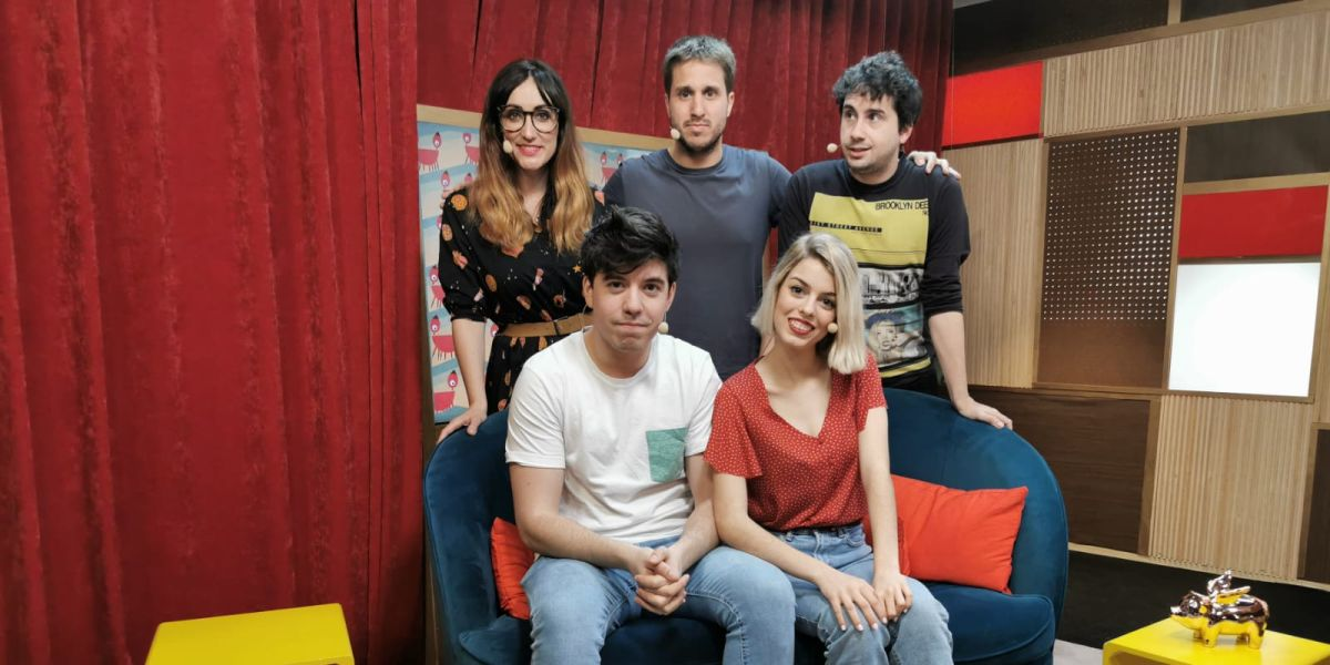 Nerea Rodríguez y Roi Méndez en 'yu'
