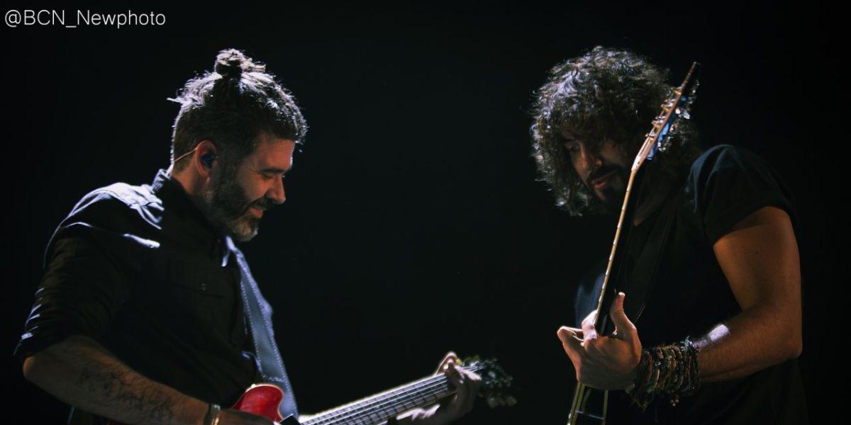 IZAL durante su concierto de 'El final del viaje' en Barcelona