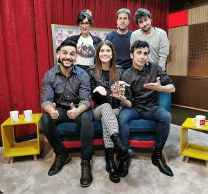 Nerea Camacho, Canco Rodríguez y Fran Perea en 'yu, no te pierdas nada'