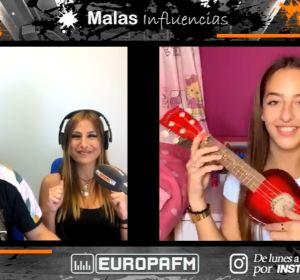 Ariann Music en Malas Influencias, con Coco Pretel y Laura Lobo