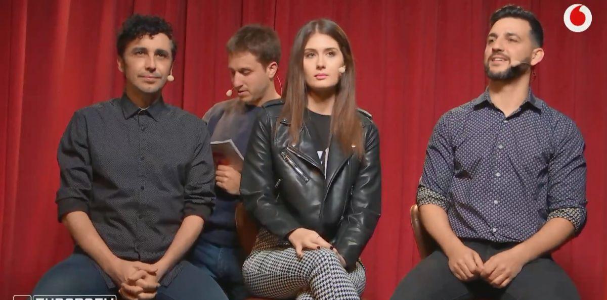 Canco Rodríguez, Nerea Camacho y Fran Perea