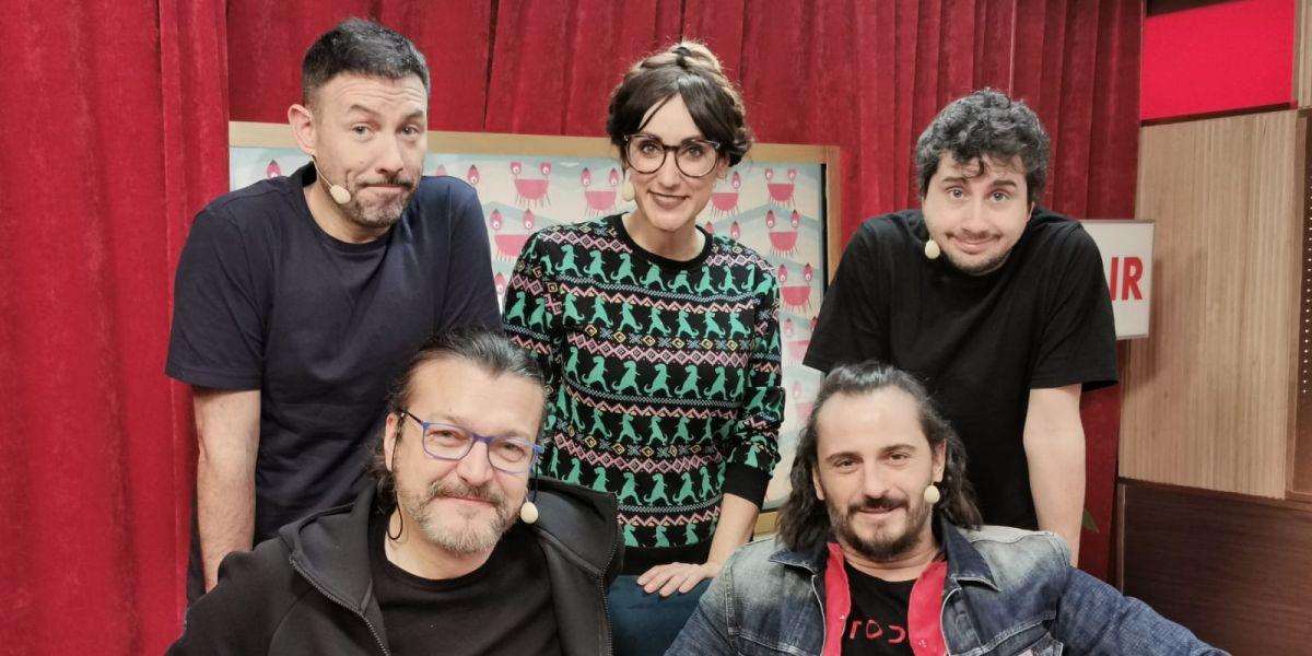 Asier Exteandía y Enrico Barbaro en 'yu'