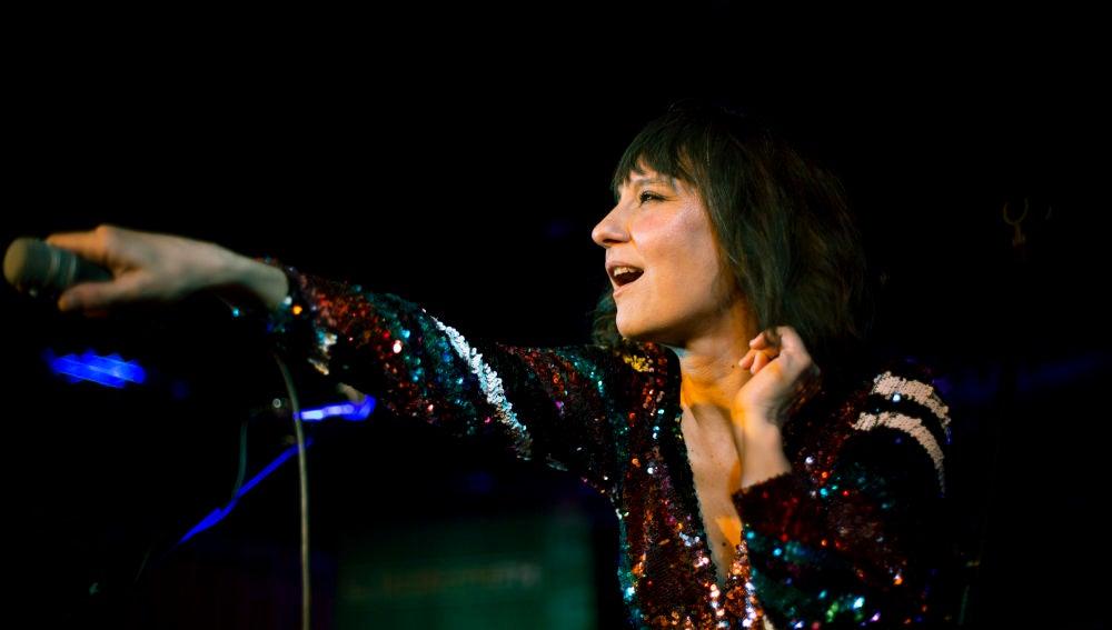 Eva Amaral en el Showcase con Europa FM
