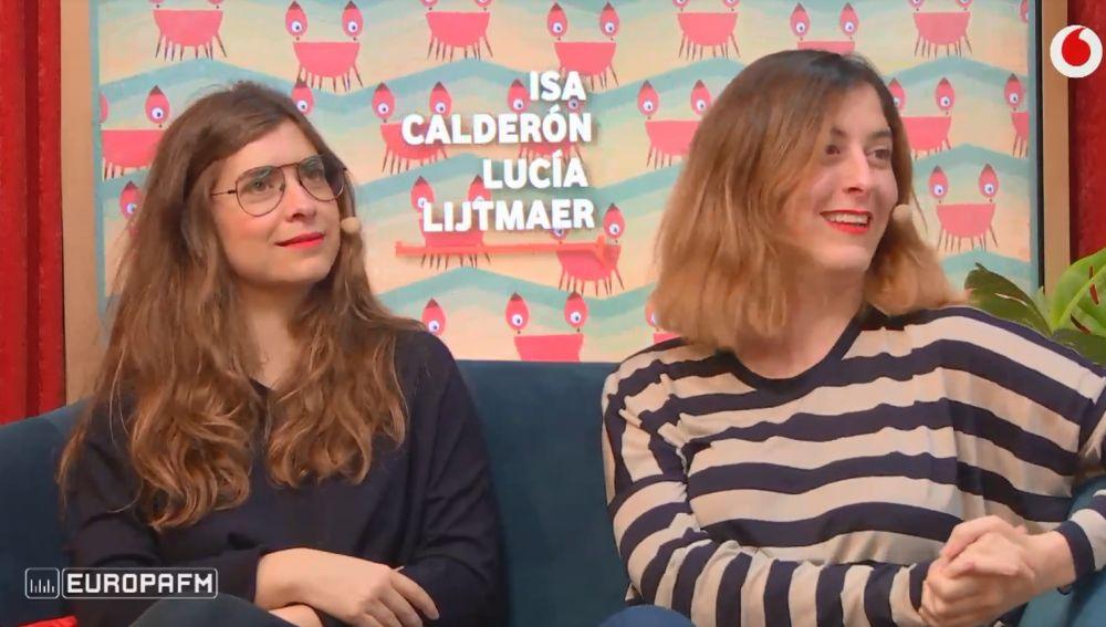 Isa Calderón y Lucía Lijtmaer