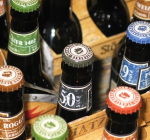 Botellines de cerveza