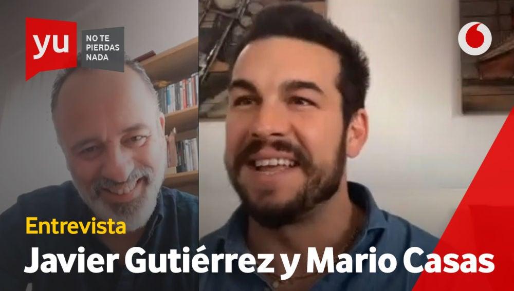 Mario Casas y Javier Guitiérrez en 'yu'