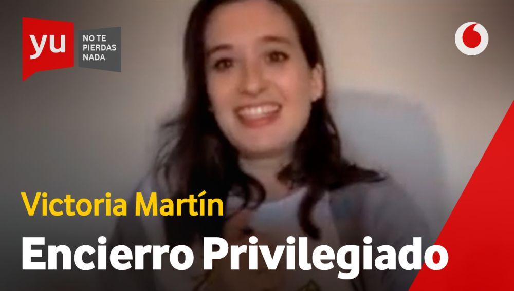 Victoria Martín en 'yu, no te pierdas nada'