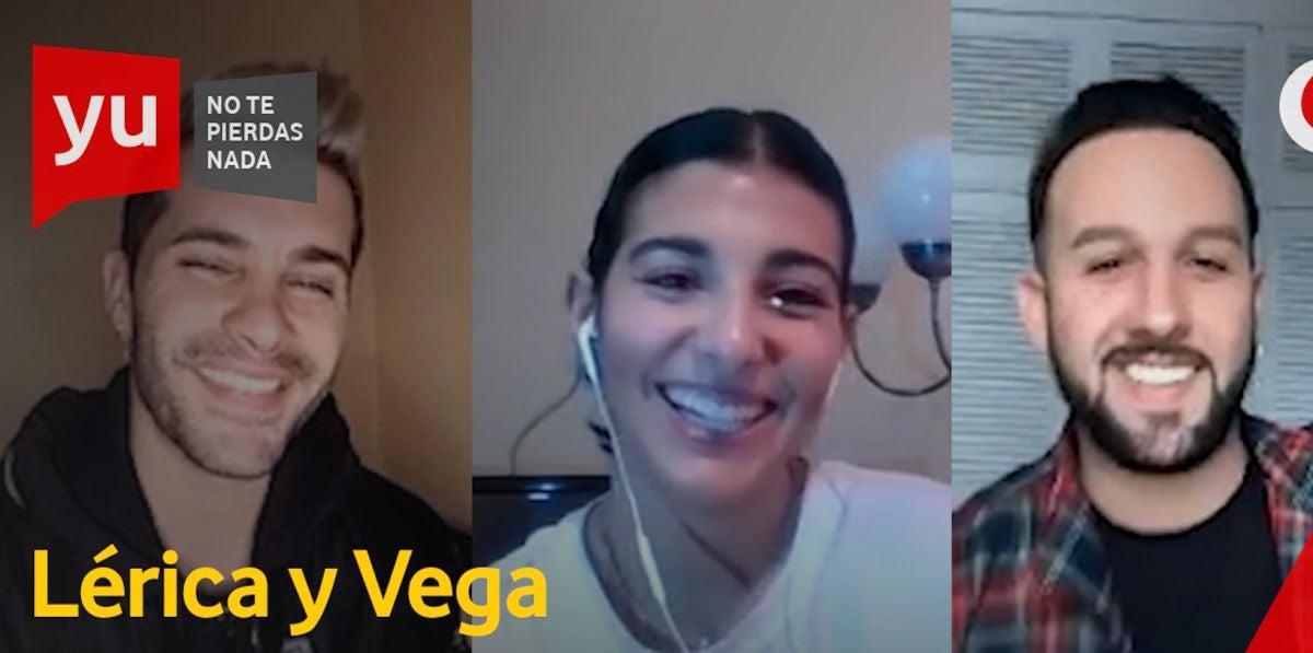 Lérica y Vega Almohalla en 'yu'