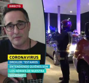 Jorge Drexler, tras superar el coronavirus.