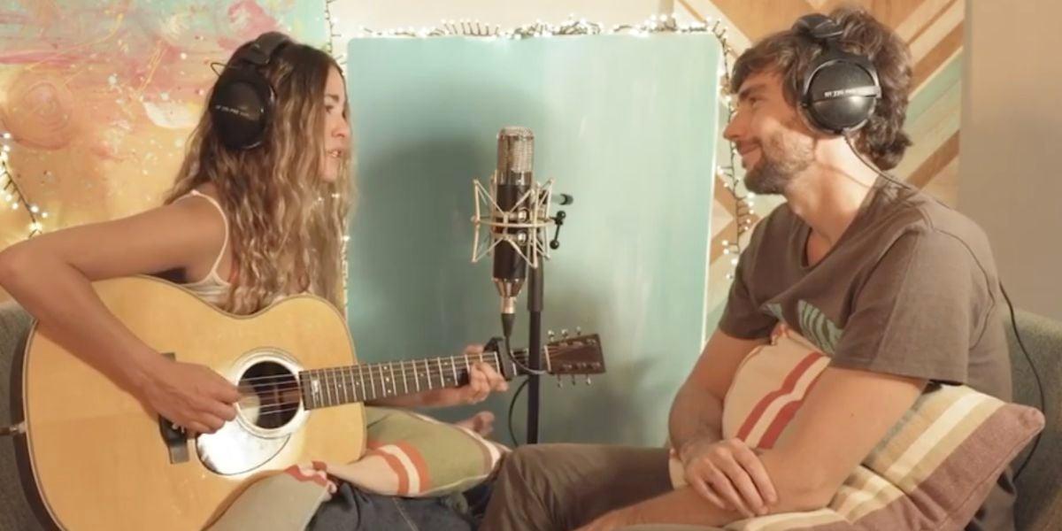 Sofía Ellar y Álvaro Soler