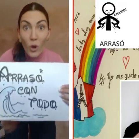 El esperanzador mensaje que profesores españoles mandan a sus alumnos al ritmo de 'Vivir' de Rozalén y Estopa