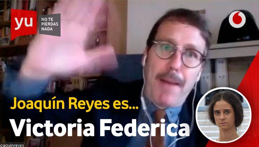 Victoria Federica está confinada en la casa de Joaquín Reyes