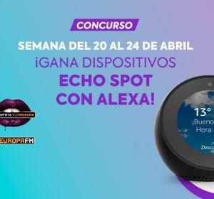 Concurso Echo Spot Amazon