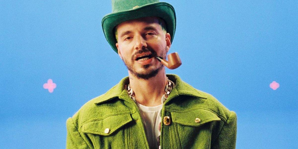 J Balvin presenta el vídeo de 'Verde'