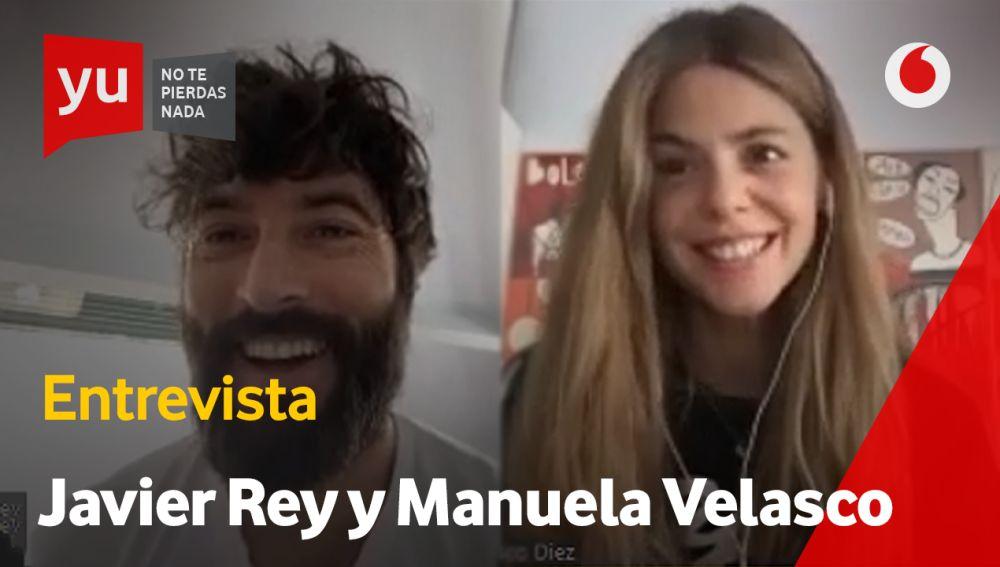Javier Rey y Manuela Velasco