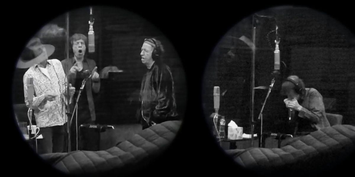 Los Rolling Stones en el videoclip de 'Living in a Ghost Town'