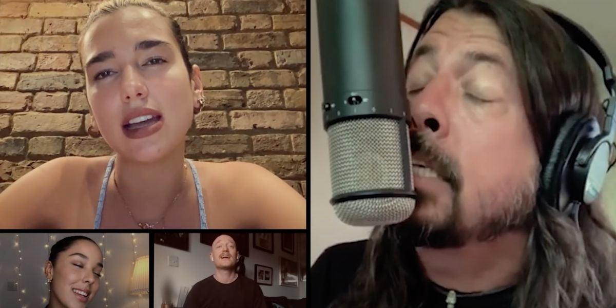 La versión benéfica de 'Times Like These' de 'Foo Fighters'