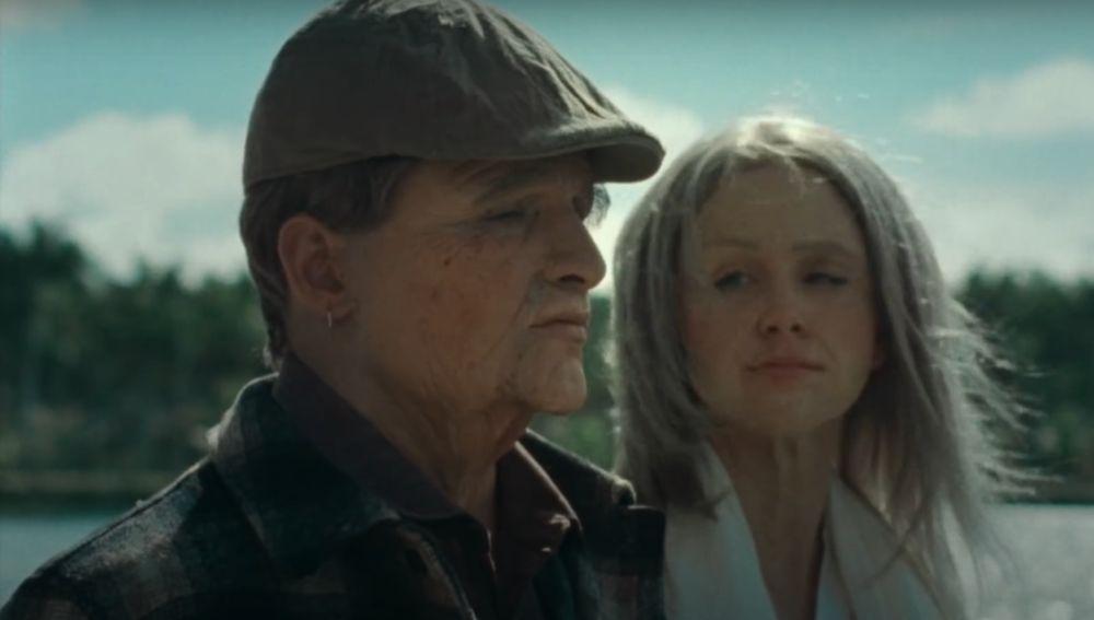 Maluma, caracterizado de anciano en el videoclip de 'ADMV'
