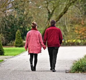 Pasear en pareja