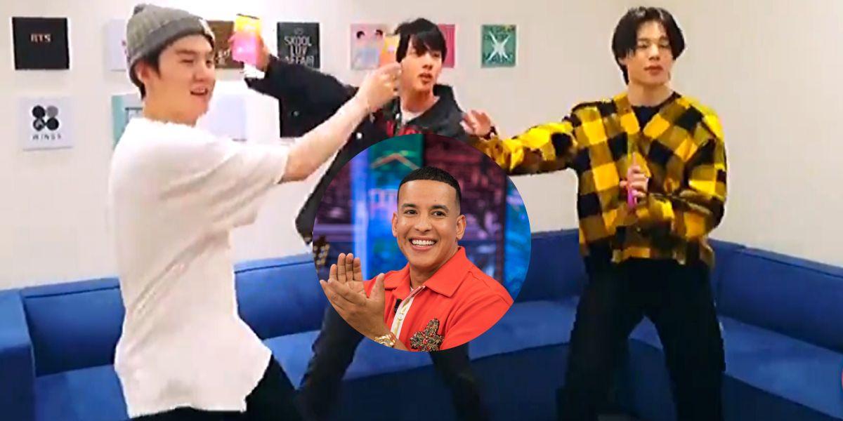 Los chicos de BTS bailan 'Con Calma' de Daddy Yankee