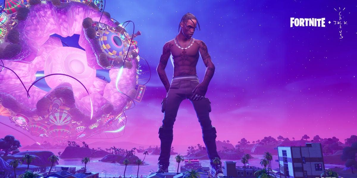 Travis Scott ofrece un concierto en Fortnite ante 27 millones de jugadores